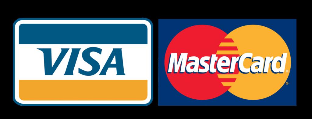 Aceptamos Visa y Mastercard